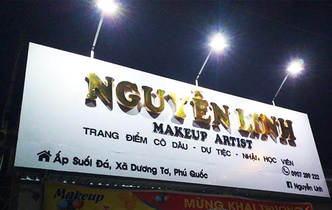 bảng hiệu quảng cáo chữ nổi alu